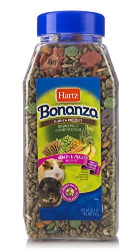 - Hartz Bonanza Health & Vitality Blend Guinea Pig Food - 22.5Oz