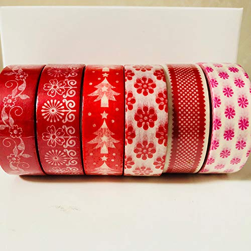 Autumn Water 5-6 Rolls/Set Washi Tape Christmas Series Packed by White Box by Autumn Water (Image #3)