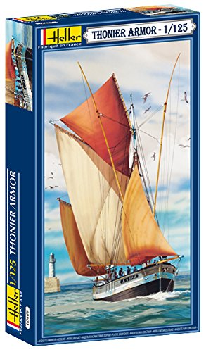 (Heller 1/125 Thonier Armor 2-Masted Sailing Ship (1/125 Scale))