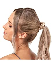 Gioia Casa Mulberry Silk Standard Scrunchie Hair Ties Luxury Accessory Small Size 3 Pack