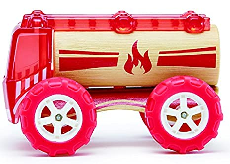 HAPE E5548 Bamboo Autos Feuerwehrauto