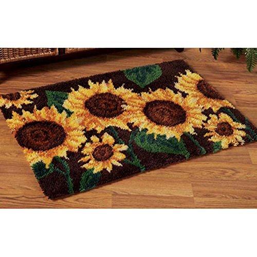 Craftways® Stately Sunflowers Latch Hook Kit
