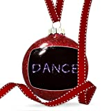 Christmas Decoration Dance Neon Light Graffiti Ornament