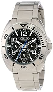 "Nautica Men's N11604G ""Classic"" Stainless Steel Watch"