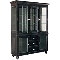 Bowery Hill China Cabinet in Black