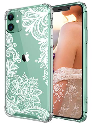 This Is Halloween Female Cover (Case for iPhone 11,Cutebe Shockproof Series Hard PC+ TPU Bumper Protective Case for Apple iPhone 11 6.1 Inch Crystal Lace)