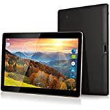 Batai 10 inch tablet Android Octa Core Tablet with Two Sim Card Slots Unlocked 3G Phone Call Phablet 4GB RAM 64GB ROM Tablet PC Built in Wifi and Camera GPS (Black)
