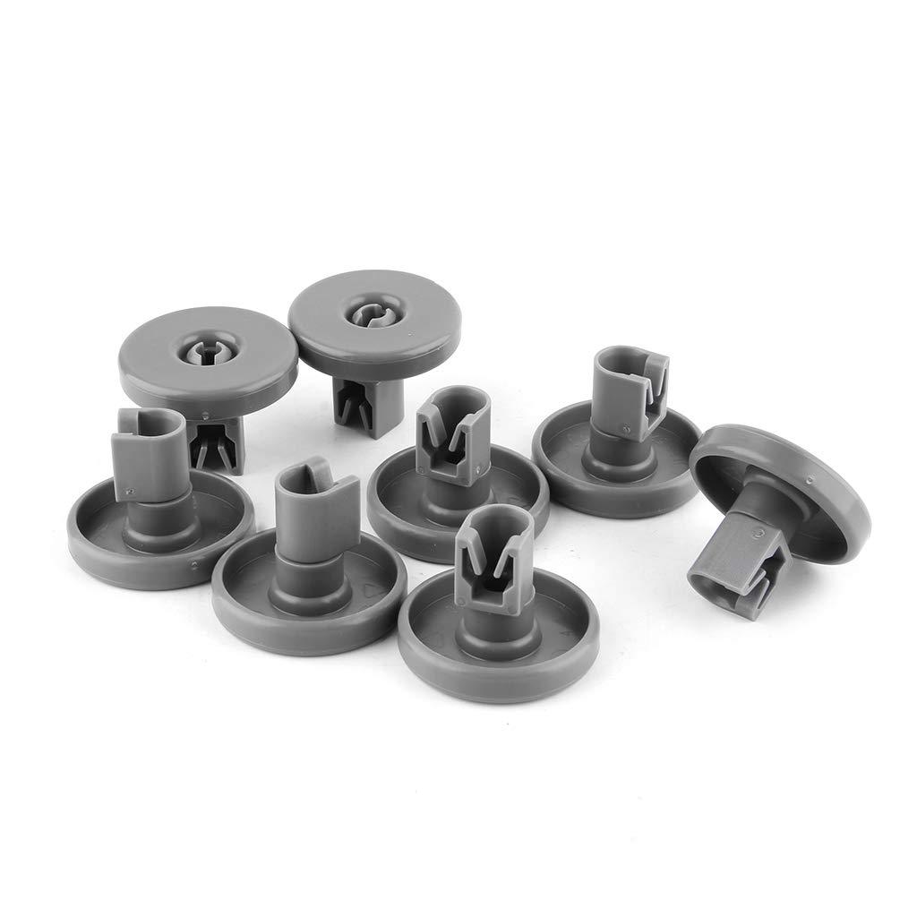 jiheousty 8 Piezas de Repuesto para lavavajillas Rolls Kits ...