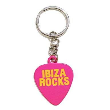 Ibiza Rocks: Llavero Metálico - Rosa, Talla única: Amazon.es ...