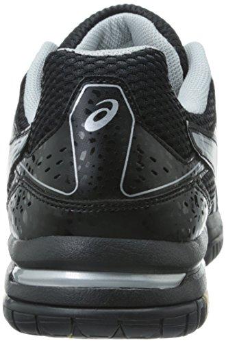 Asics - Frauen-Gel-Rocket-7-Schuhe, EUR: 40.5, BLACK/SILVER
