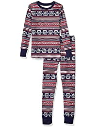 Boys' Snug-fit Cotton Pajamas Sleepwear Set