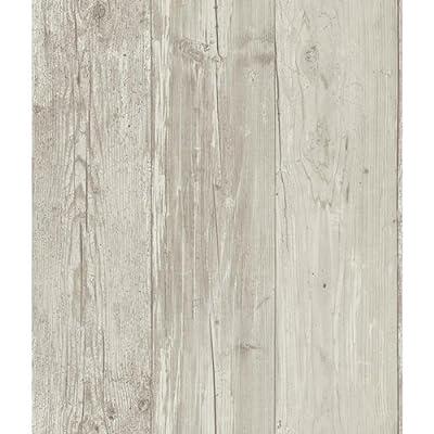 York Wallcoverings Wide Wooden Planks Wallpaper