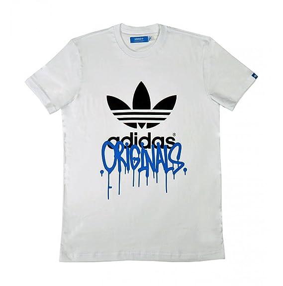 Adidas - Camiseta de running para hombre, tamaño XS, color azul