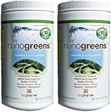 Biopharma Scientific Nanogreens 10, 12.7-ounce (2 Pack)