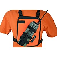 Lone Peak Universal Radio Chest Harness (SAFETY ORANGE)
