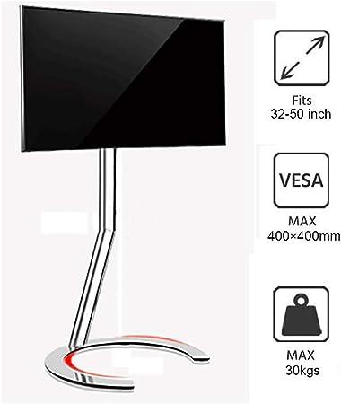 JJDSZJ Soporte de TV portátil para Pantalla LCD LED de 32-50 Pulgadas, Base semicircular de 270 °, Puede soportar 30 kg: Amazon.es: Hogar