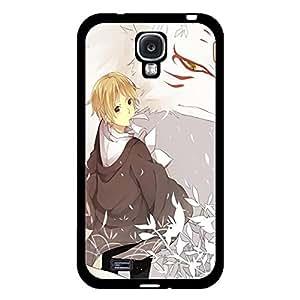Samsung Galaxy S4 I9500 Phone Case Natsume_Yuujinchou Takashi Cat Poster Fine Cartoon Cover