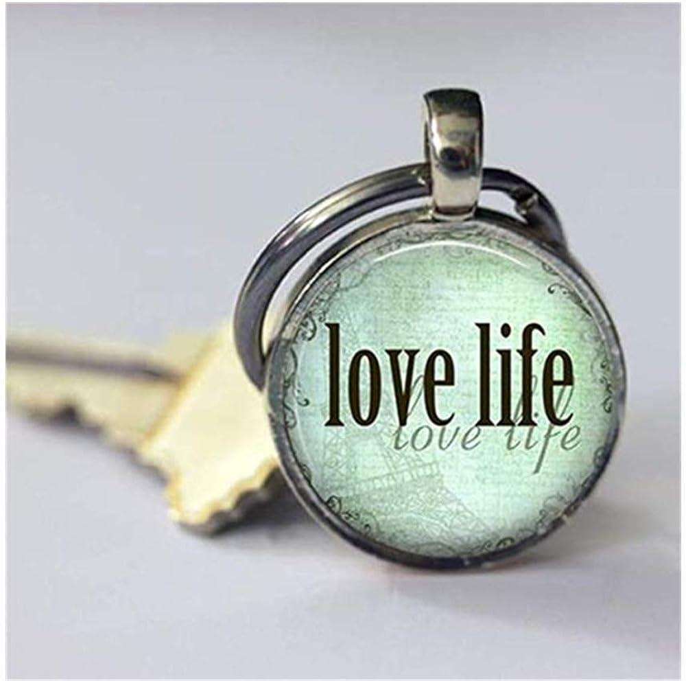Leonid Meteora Love Life Keychain Berretto da Donna, Exquisite Chiave Portachiavi Fibbia , Pure Fatti a Mano