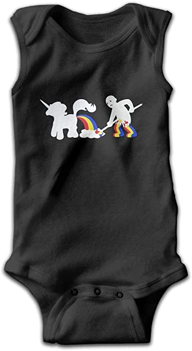 Unicorn Infant Baby Sleeveless Bodysuit Romper