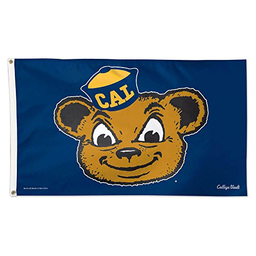 WinCraft Cal Bears Official NCAA 3' x 5' Vault Deluxe Banner Flag by 086181