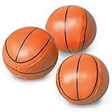 Amscan Basketball Dream Birthday Party Soft Ball (12 Piece), Orange, 10 x 8'