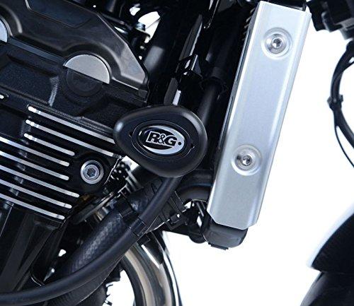 R&G(アールアンドジー) エアロクラッシュプロテクター ブラック Z900RS(18-) RG-CP0440BL   B079QK8ZLS