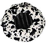 BESSIE AND BARNIE LILYZ-SP BP Lily Pod Spotted Pony Black Puma Patch Pet Bed