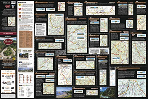 (Oregon G1 by Butler Motorcycle Maps)