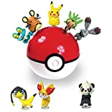 Pokemon Suction Figure Monster Ball & Coin Bank (Random) : 6pcs