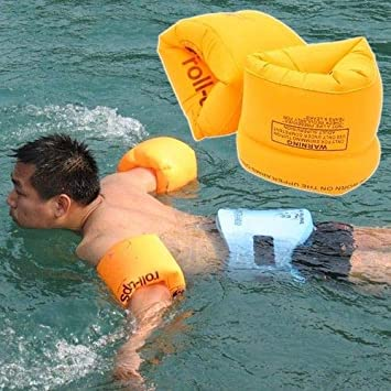 Amazon.com : RULONG Kids children adult Inflatable Safety Water Pool Wings Swimming Arm Bands Floats : Beauty