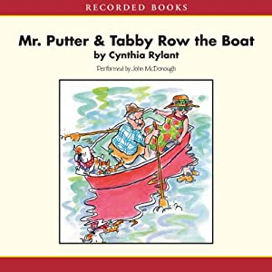 Mr. Putter and Tabby Row the Boat Audiobook