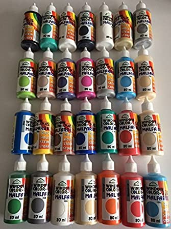 Spielzeug Wasserlösliche Malfarben Kinder Farben mit Pinsel und Vorlagen