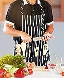 Utopia Kitchen Adjustable Bib Apron with Pockets
