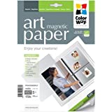PMA650005MLT - ColorWay ART Matte ColorWay Photo paper Magnetic 8.5x11, 5sheets (PMA650005MLT)
