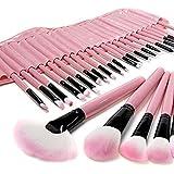 Asien professionale 32PCS Rosa Pennelli trucco corredo cosmetico Make Up Tool Set ombretto, sopracciglia,