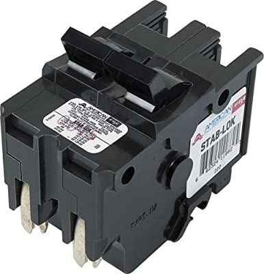 American/Federal Pacific Circuit Breaker, 2-Pole 20-Amp Thick Series