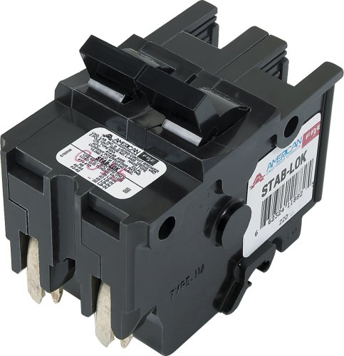 American/Federal Pacific Circuit Breaker, 2-Pole 30-Amp Thick Series by Connecticut Electric
