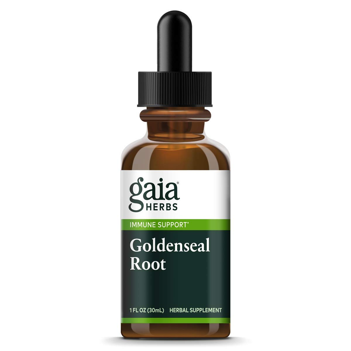 Gaia Herbs Goldenseal Root, 1-Ounce Bottle (Pack of 2)
