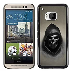 Impact Case Cover with Art Pattern Designs FOR HTC One M9 Grim Reaper Skull Goth Death Betty shop