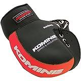 コミネ(Komine) バイク用ハンドルカバー ネオプレンハンドルウォーマー ブラック/レッド フリー 09-021 AK-021