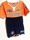 Genuine FILA Baby Boys girls junior kids Luton Town FC Away 2016 Football Kit ,Shirt & Shorts 12-18 Months / 6-7 years new