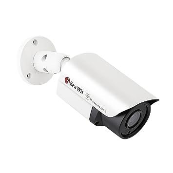 Sea Wit IP Cámara Seguridad de Cámara 960P HD Cámaras de Vigilancia Impermeable IP66 Alarma de