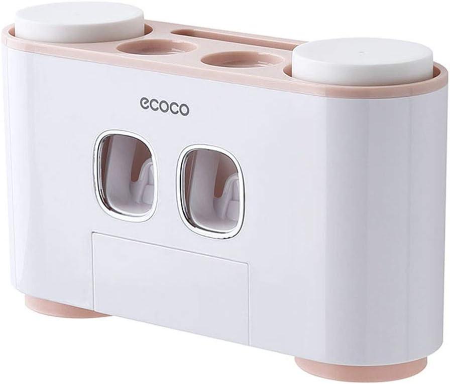 11x7x6cm Automatic Tooth Paste Dispenser Holder Pared Bathroom Accessories dispensador de Pasta de Dientes autom/ático MHTECH autom/ática exprimidor de Pasta de Dientes