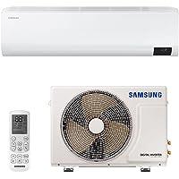 Ar Condicionado Split High Wall Inverter Samsung Ultra Quente e Frio 9000 Btus Ar09tshzdwknaz 220v 220v