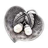 CINDY XIANG Freshwater Pearl Leaf Brooches Women Vintage Elegant Wedding Pins Fashion Coat Dress Corsage Large Jewelry Gift