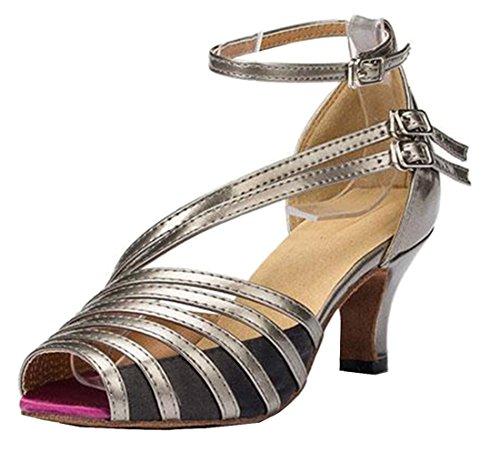 TDA - Zapatos con tacón mujer 6cm Heel Grey