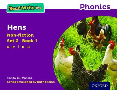 Download Read Write Inc. Phonics: Purple Set 2 Non-Fiction 1 Hens pdf epub
