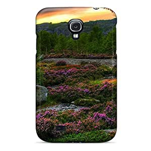 New Arrival Premium S4 Case Cover For Galaxy (evening Blossoms)