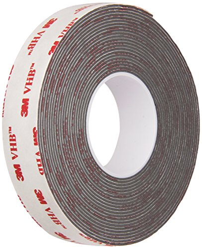 (3M 4941 VHB Bonding Tape - 0.75 in. x 15 ft. Sealing Tape Roll with Conformable Foam Core - UL 746C Listed Cushioning Tape. Sealants and Adhesives)