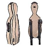 Tonareli Viola Case Cover For VAF Shaped Fiberglass Cases - VACCS 1004 Beige